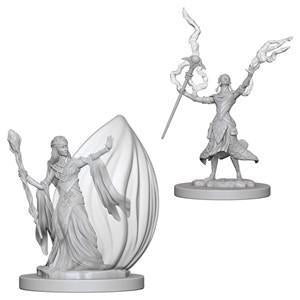 D&D Nolzur's Marvelous Miniatures - Elf Female Wizard - Unpainted (WZK72623)