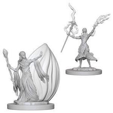 Load image into Gallery viewer, D&D Nolzur's Marvelous Miniatures - Elf Female Wizard - Unpainted (WZK72623)