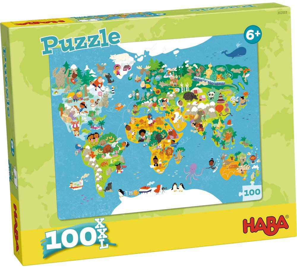 HABA Puzzles: Europe Map - 100 Piece Puzzle