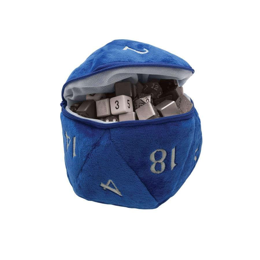 Ultra Pro: Plus D20 dice bag - Blue