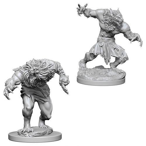 D&D Nolzur's Marvelous Miniatures - Werewolves - Unpainted (WZK73194)