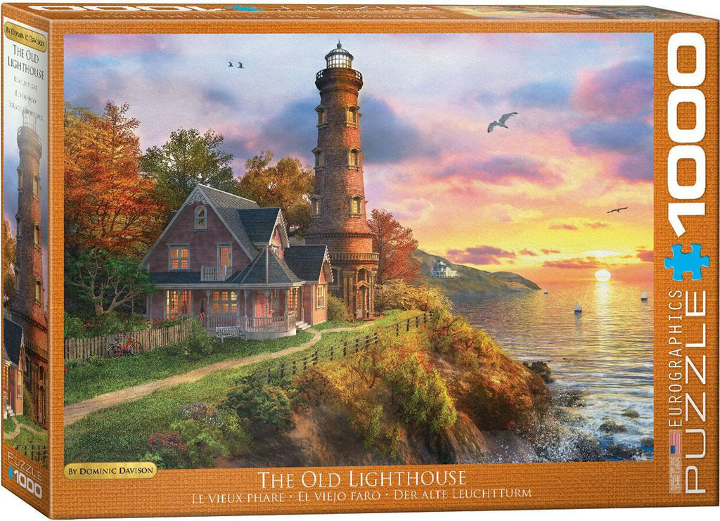 EuroGraphics: The Old Lighthouse by Dominic Davison - 1000-Piece Puzzle