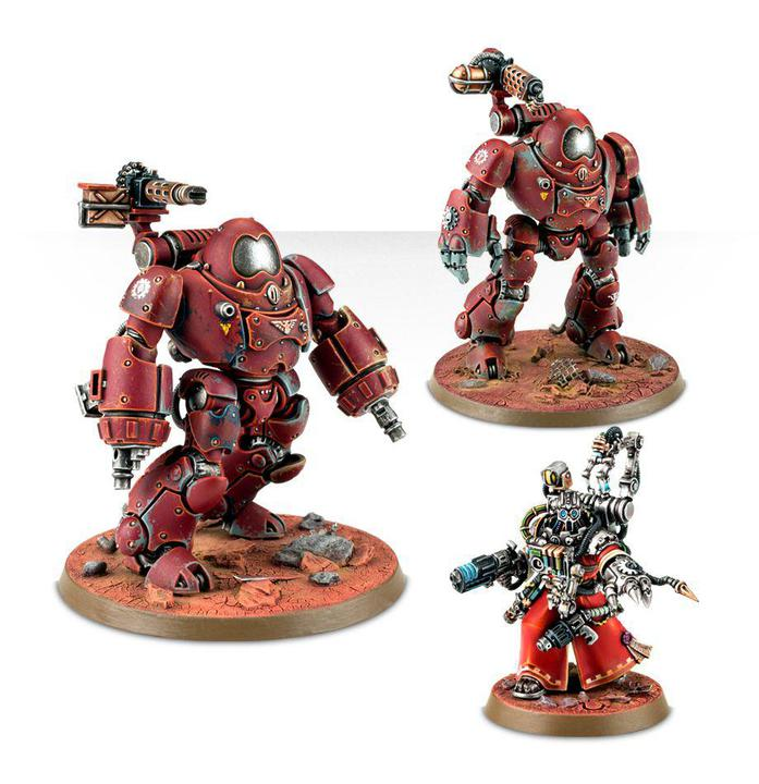Games Workshop: Warhammer 40k - Adeptus Mechanicus - Kastelan Robots