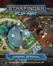 Load image into Gallery viewer, Starfinder RPG: Flip-Mat - Urban Sprawl