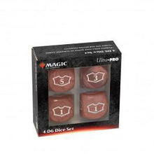 Load image into Gallery viewer, Ultra Pro: Magic the Gathering - Deluxe Loyalty Red D6 set (4)