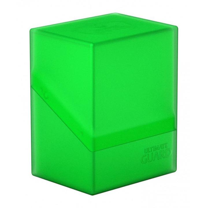 Ultimate Guard: Boulder 80+ Deck Box - Emerald (Green)