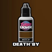 Load image into Gallery viewer, Turbo Dork: Metallic Acrylic Paint- Death By (20ml)