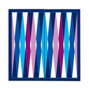 Load image into Gallery viewer, Backgammon and Checkers: 2-in-1 Travel Game Set - Jonathan Adler
