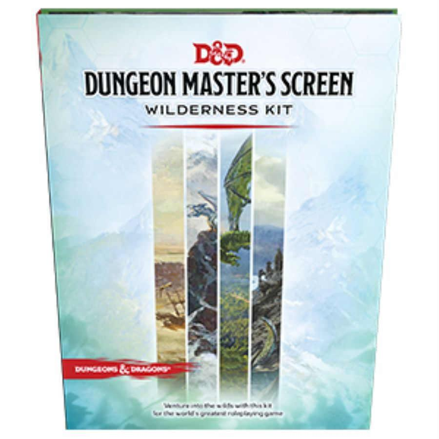 D&D Dungeon Master's Screen - Wilderness Kit