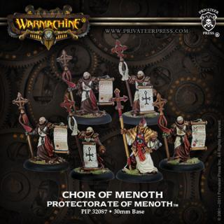 Warmachine: Protectorate - Choir Of Menoth