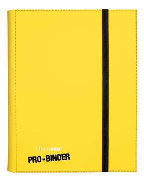 Ultra Pro: 9-Pocket Portfolio Binder - Yellow