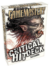 Load image into Gallery viewer, Pathfinder RPG Game Mastery Cards - Critical Hit Deck