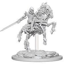 Load image into Gallery viewer, Pathfinder Deepcuts Miniatures - Skeleton Knight on Horse - Unpainted