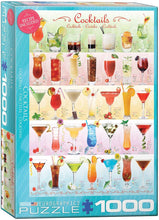Load image into Gallery viewer, EuroGraphics: Cocktails - 1000-Piece Puzzle