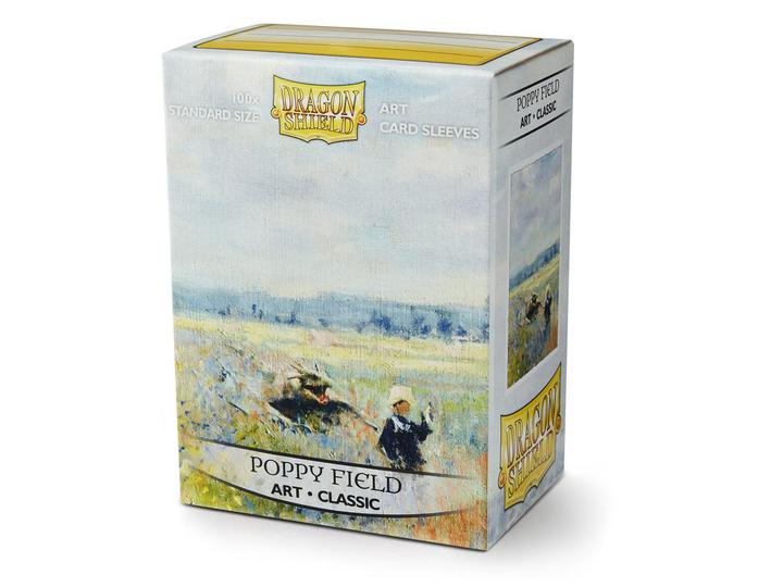 Dragon Shield: Classic Art Deck Protector Sleeves - Standard Size 'Poppy Field' (100)