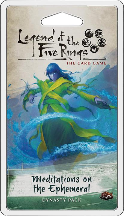 Legend of the Five Rings LCG - Meditations on the Ephemeral Dynasty Pack Expansion