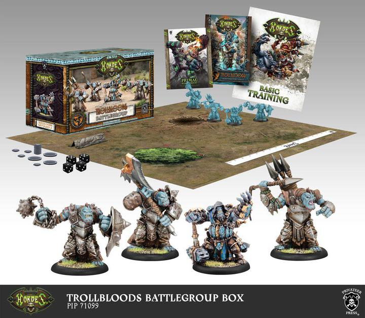 Hordes: Trollbloods - Battlegroup Box Starter Set (Plastic)