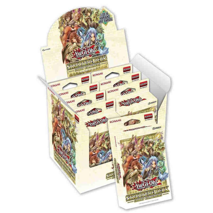 Yugioh: Spirit Charmers - Structure Deck Display (8)