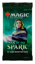 Load image into Gallery viewer, Magic the Gathering: War of the Spark - Booster Pack