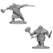 Load image into Gallery viewer, D&D Nolzur's Marvelous Miniatures - Dwarf Male Fighter - Unpainted (WZK72616)