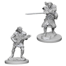 Load image into Gallery viewer, D&D Nolzur's Marvelous Miniatures - Human Male Bard - Unpainted