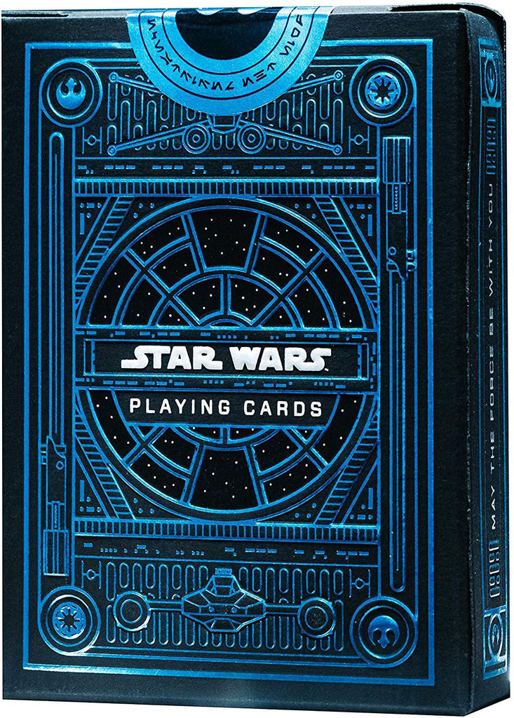 Bicycle Playing Cards: Star Wars - Light Side (Blue)
