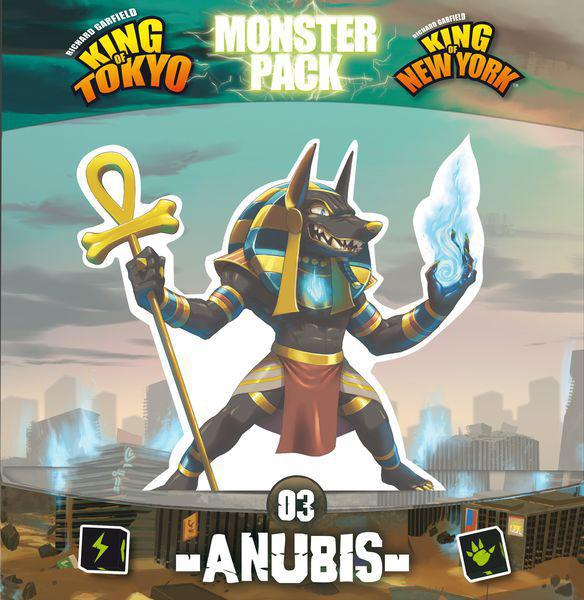 King of Tokyo - Anubis Monster Pack Expansion