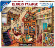 Load image into Gallery viewer, White Mountain Puzzles: Reader's Paradise - 1000 Piece Puzzle