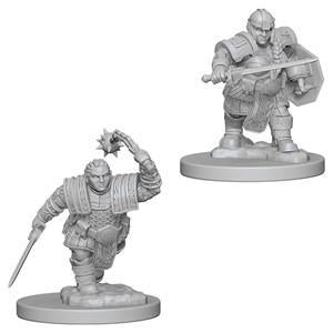 D&D Nolzur's Marvelous Miniatures - Dwarf Female Fighter - Unpainted (WZK72617)