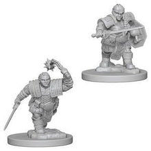 Load image into Gallery viewer, D&D Nolzur's Marvelous Miniatures - Dwarf Female Fighter - Unpainted (WZK72617)