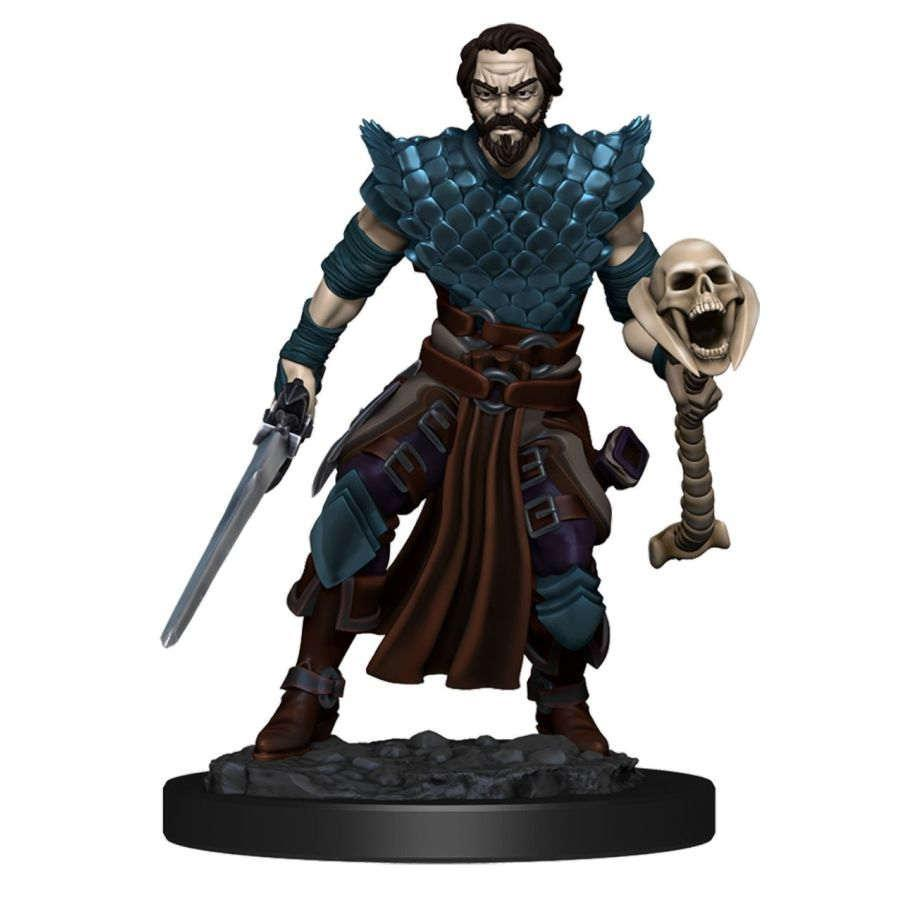Dungeons & Dragons: Human Male Warlock - Icons of the Realm Premium Figures (WZK93024)