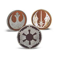 Load image into Gallery viewer, Star Wars Metal and Wood Die Cut Insignias