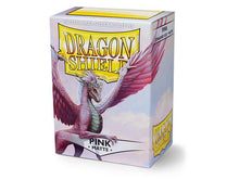 Load image into Gallery viewer, Dragon Shield: Deck Protector Sleeves - Standard Size Matte Pink (100)