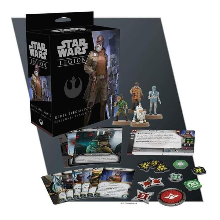 Star Wars Legion - Rebel Specialists Personnel Expansion