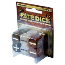 Load image into Gallery viewer, Evil Hat Productions: Fate Dice Antiquity Core - d6 Dice Set (12) - EHP9013
