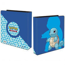 "Load image into Gallery viewer, Ultra Pro: 2"" Three Ring Binder 'Squirtle' - For Pokemon TCG"
