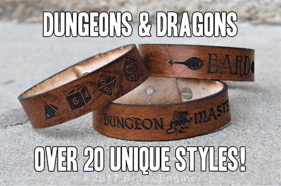 Brass Engines Productions: Leather Bracelet