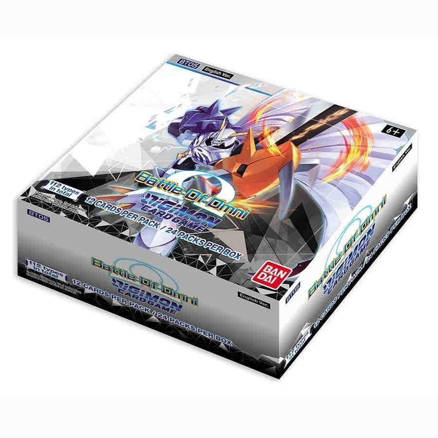 Digimon Card Game: Battle of Omni [BT05] Booster Box