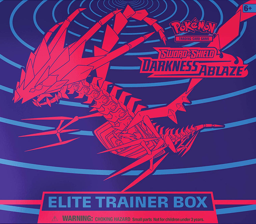 Pokemon TCG: Sword & Shield - Darkness Ablaze Elite Trainer Box