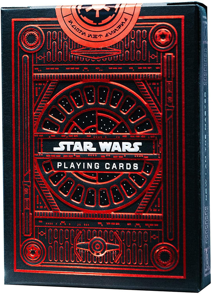Bicycle Playing Cards: Star Wars - Dark Side (Red)
