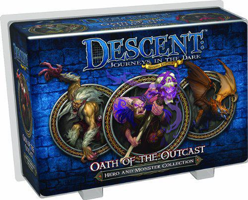 Descent Journeys in the Dark 2nd Edition: Oath of the Outcast Expansion