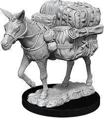 WizKids Deep Cuts Miniatures - Pack Mule - Unpainted (WZK73552)
