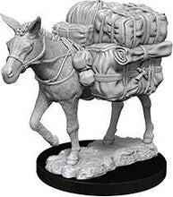 Load image into Gallery viewer, WizKids Deep Cuts Miniatures - Pack Mule - Unpainted (WZK73552)