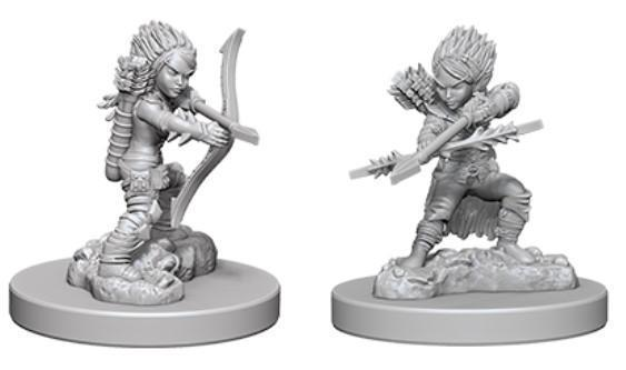 Pathfinder Deep Cuts Miniatures - Female Gnome Rogue - Unpainted (WZK73408)