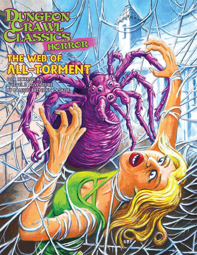 Dungeon Crawl Classics RPG: The Web of All-Torment  (Horror #6)