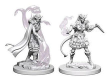 Load image into Gallery viewer, D&D Nolzur's Marvelous Miniatures -  Female Tiefling Sorcerer - Unpainted (WZK73202)