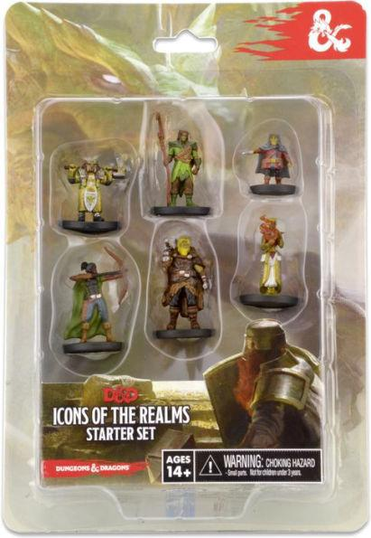 D&D Icons of The Realms Miniatures (figure) - Starter