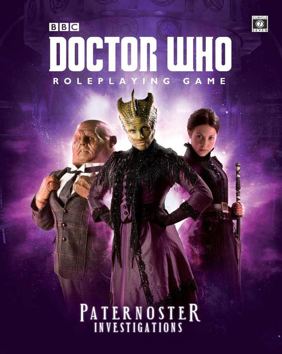 Doctor Who RPG - Paternoster Investigations