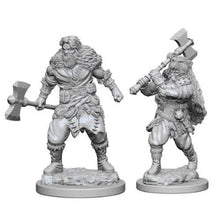 Load image into Gallery viewer, D&D Nolzur's Marvelous Miniatures - Human Male Barbarian - Unpainted