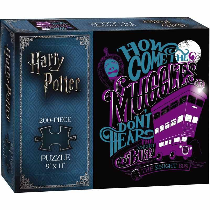 Harry Potter: The Knight Bus - 200 Piece Puzzle